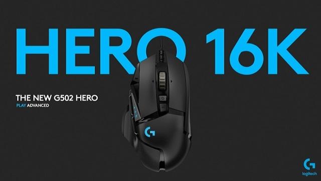 logitech hero g502